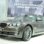 Der neue BMW 7er, hier als 740LI in Moskau