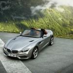 BMW Zagato Roadster aus der Vogelperspektive