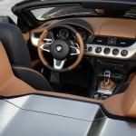 Das Cockpit des BMW Zagato Roadster