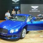 Bentley Continental GT Speed in Blau