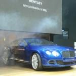 Bentley Continental GT Speed fährt vor