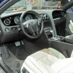 Der Innenraum des Bentley Continental GT Speed