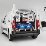 Citroen Berlingo Kastenwagen mit Regale