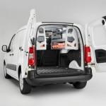 Citroen Berlingo Kastenwagen mit der Einrichtung von Simpleco