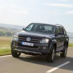 neuer Volkswagen Amarok (Fahraufnahme)