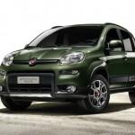 2012 Fiat Panda 4x4 von vorne + Seite