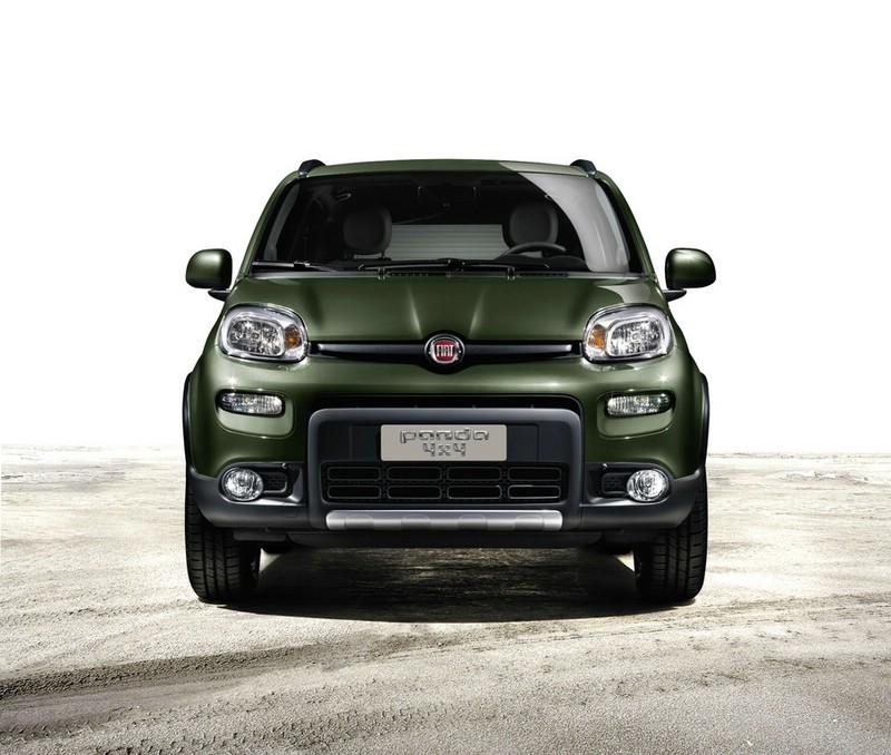 Fiat Panda Allrad in der Frontansicht