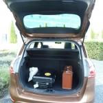Viel Platz fürs Gepäck im Ford B-Max