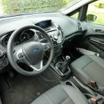 Das Interieur des Ford B-Max - Leder, Klima