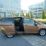 Die Schiebetür des neuen Ford B-Max