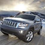 Jeep Grand Cherokee Overland Summit in der Frontansicht