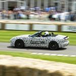 Jaguar F-Type noch getarnt beim Goodwood Festival of Speed 2012