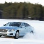 Jaguar präsentiert den XJ AWD (Fahraufnahme)