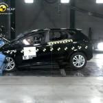 Der Kia Ceed beim Crashtest von EuroNCAP