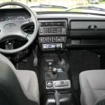 Das Armaturenbrett des Lada 4x4