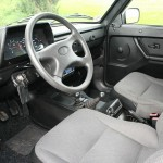 Das Interieur des Lada 4x4