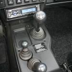Der Schaltknauf des Lada 4x4