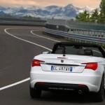 Neues Lancia Flavia Cabriolet von hinten