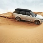 Der 2013 Range Rover in der Wüste