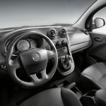 Der Innenraum des Mercedes-Benz Citan - Cockpit