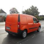 Orangener Mercedes-Benz Citan als Kastenwagen