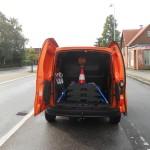 Die Ladefläche des Mercedes-Benz Citan Kastenwagen