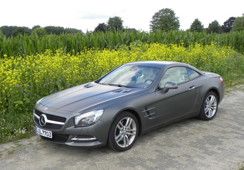 Testwagen Mercedes-Benz SL 350