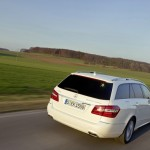 Mercedes-Benz E 300 Blue Tec Hybrid T-Modell in Weiss