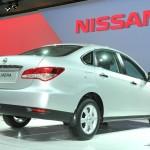 Nissan Almera 2012 in der Heckansicht