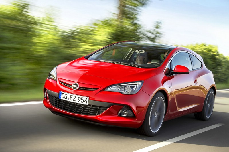 Der neue Opel Astra GTC in Rot
