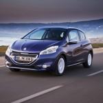 Peugeot 208 in Blau Metallic