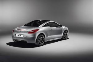 Peugeot RCZ Onyx von hinten