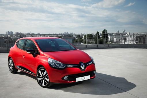 Der neue Renault Clio in Rot (2012-er Modell)