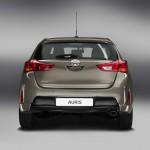 Die Heckansicht des neuen Toyota Auris