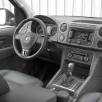Der Innenraum des Volkswagen Amarok Modelljahr 2012