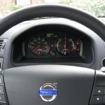 Das Cockpit des Volvo-Elektroautos C30 Electric