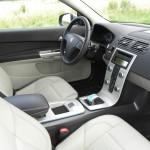 Das Interieur des Volvo C30 Electric