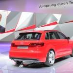 Der neue Audi A3 als 2.0 TDI auf dem Pariser Autosalon 2012
