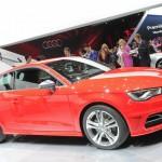 Audi A3, Intern 8V, auf der Pariser Automesse 2012