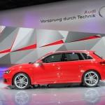 Audi A3 Sportback 8V Modellgeneration 2013 in Rot