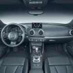 Das Armaturenbrett des Audi A3 Sportback