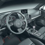 Das Interieur des neuen Audi A3 Sportback 2012