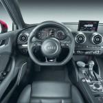 Das Cockpit des Audi A3 Sportback S line