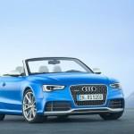 Das neue Audi RS 5 Cabriolet von vorne