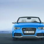 Die Frontpartie des neuen Audi RS 5 Cabriolet