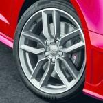 Die Felgen des 300 PS starken Audi S3