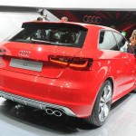 Audi präsentiert den neuen S3: Heckpartie