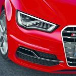 Die Scheinwerfer des Audi S3 2013