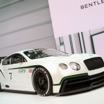 Bentley GT3 Racer auf der Paris Motor Show 2012