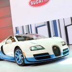 Bugatti Veyron Grand Sport Vitesse auf der Paris Motor Show 2012